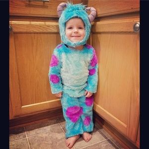 Too cute, DISNEY, MONSTERS UNIV, Sully costume!!